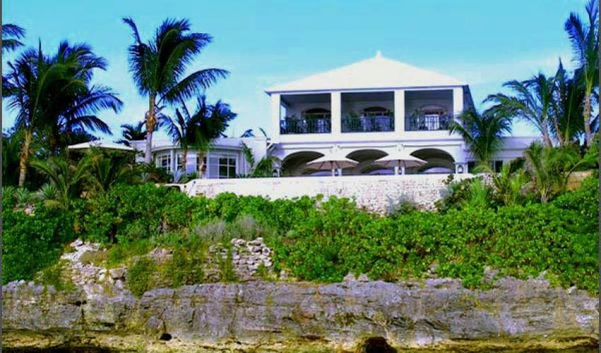 Peachy 7 Bedroom Private Beach Villa With Pool In Bahamas Caribbean Home Interior And Landscaping Ferensignezvosmurscom