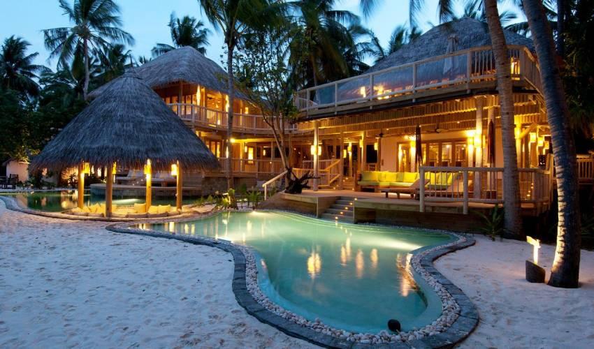 3 Bedroom Beachfront Villa With Private Pool In Maldives