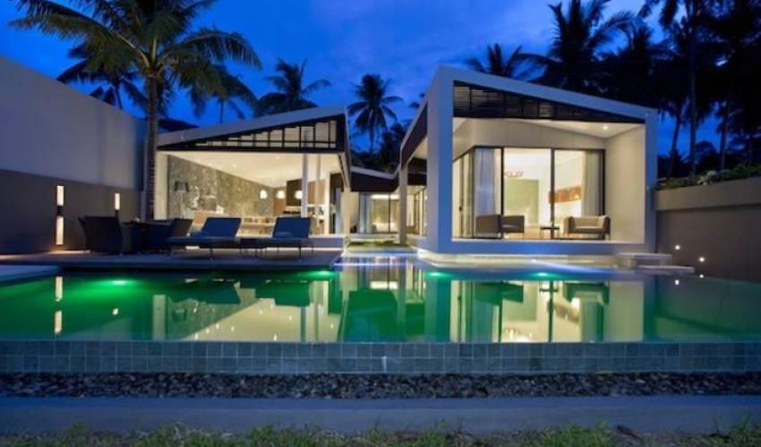 3 Bedroom Beachfront Luxury Villa With Pool Bang Po Koh Samui