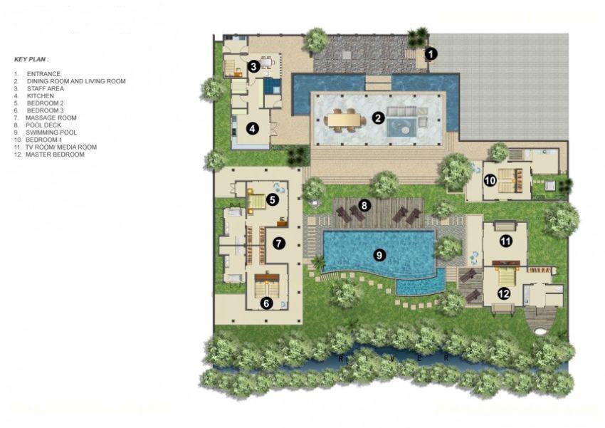 40 Bedroom Bali Villa With Infinity Pool At Canggu VillaGetaways Adorable Bali 4 Bedroom Villa Plans