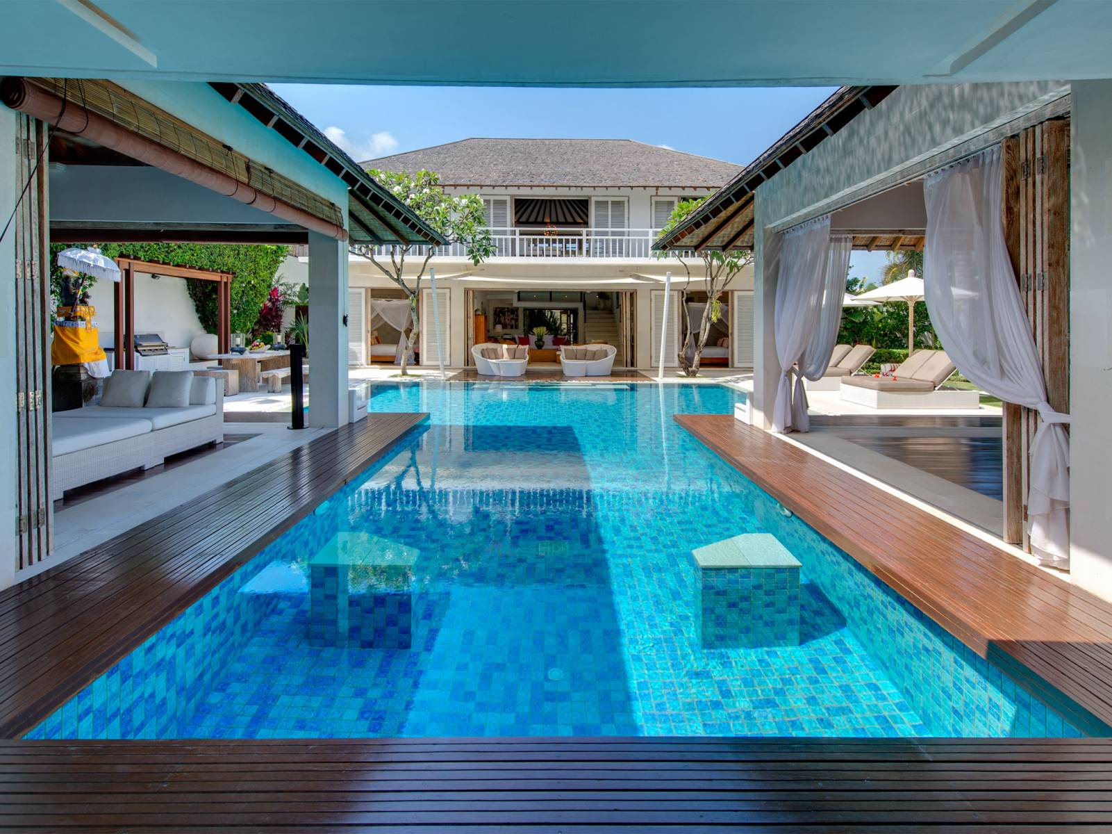 Best luxury bali villas 600 private villas with pool for Pool design for villa