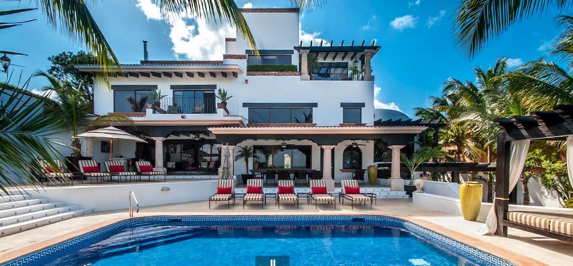 Cancun Beach Villa 1551