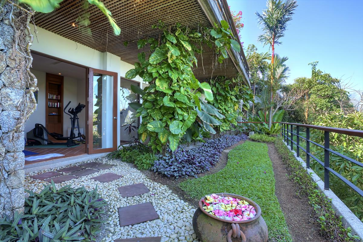 4 bedrooms private pool villa in surin beach phuket thailand