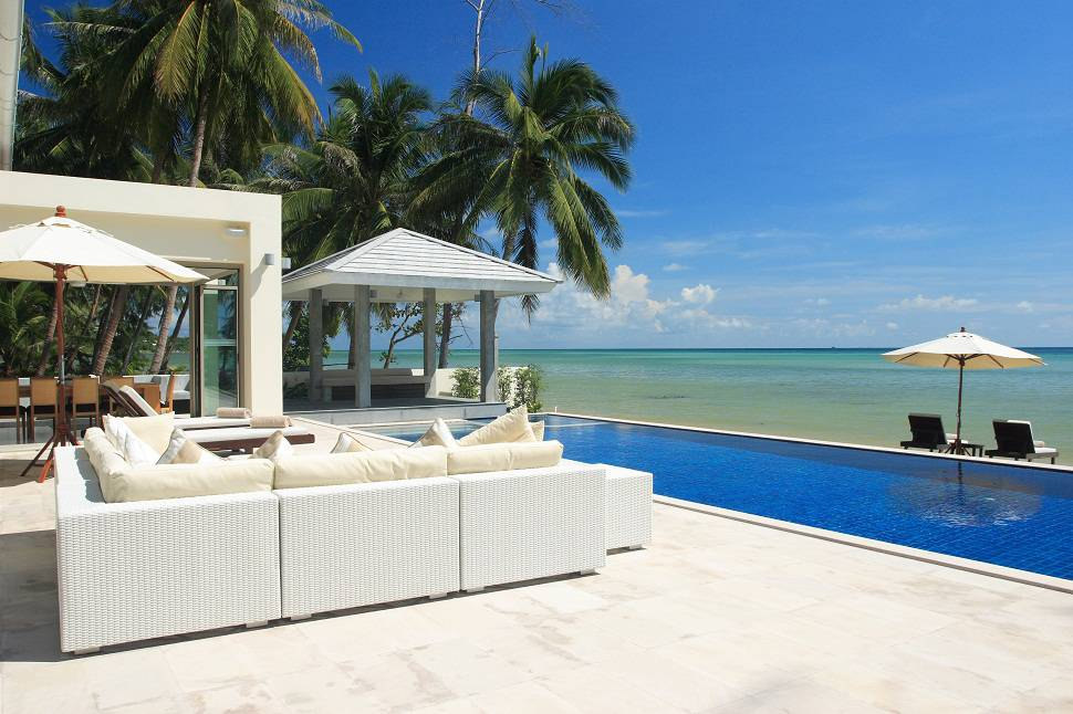 5 bedroom koh samui villa with private pool thailand for Koi pool villa koh tao